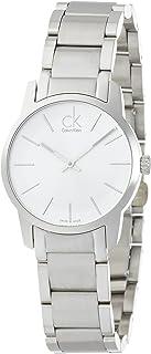 Calvin Klein Women's Quartz Watch Calvin Klein City Lady K2G23126 with Metal Strap