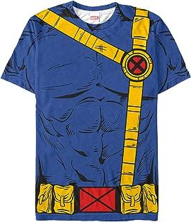 Marvel Men's X-Men Cyclops Costume All-Over Print T-Shirt