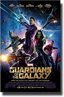 Guardians Of The Galaxy Movie Poster 11