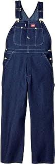 Dickies Men's Bib Overall - blue - 38W x 36L