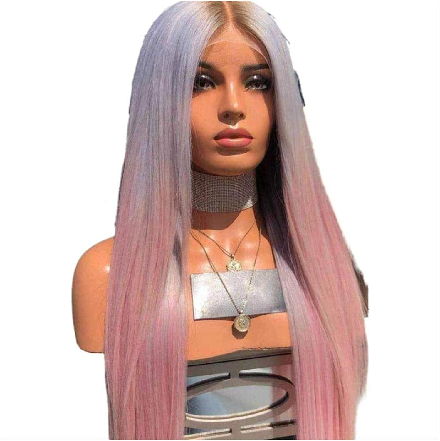 Seupeak Fashion Limited price sale Female Color Gradient Straight Long Regular store Hair in Wig