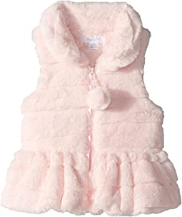 Ruffle Fur Vest (Infant/Toddler)