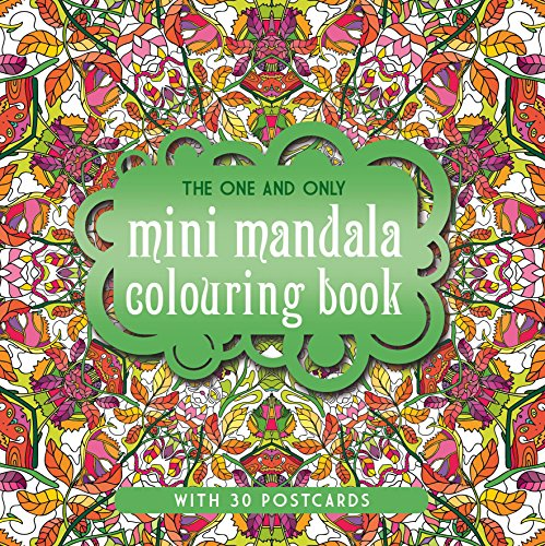 Price comparison product image The One and Only Mini Mandala Colouring Book (One and Only Colouring / One and Only Coloring)