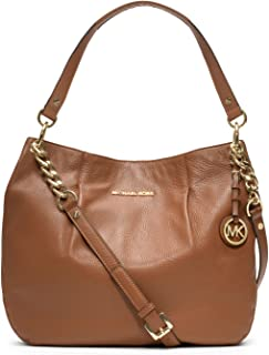 Michael Kors Bedford Large Genuine Leather Shoulder Tote
