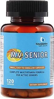 FutureBiotics M.V. Senior Complete Multivitamin Formula, 120 Capsules