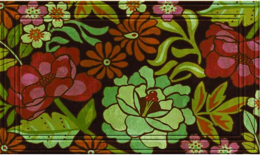 Amazon Com Naturelles Lucia S Garden Door Mat 18 Inch By 30 Inch Doormats Garden Outdoor