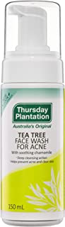 Thursday Plantation Tea Tree Acne Face Wash, 150 milliliters