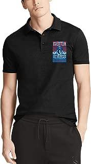 HOU BUZHUA Business Men Entertainment Polo T Shirts