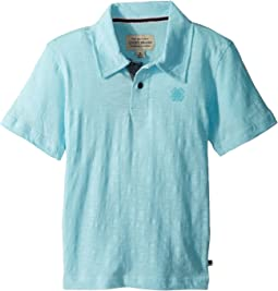 Lucky Brand Kids - Short Sleeve Washed Polo (Little Kids/Big Kids)