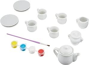 crochet tea party set