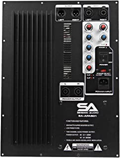 Seismic Audio - SA-APAS01-500 Watt Plate Amplifier for PA/DJ Subwoofer Cabinets with 2 Satellite Outputs