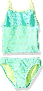 TCP Children/'s Place SwimWear Bathing Suit 2pc Bikini Green Floral UPic Size NEW
