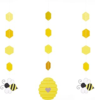 Creative Converting 340103 Bumblebee Baby Hanging Decorations, 32