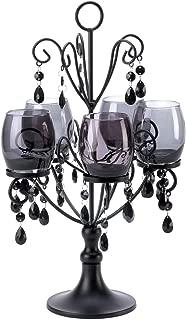 VERDUGO GIFT 57071232 Black Jewels Candelabra,
