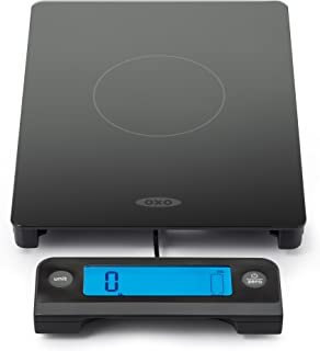 OXO Good Grips 11 Lb Glass Scale with Pull-Out Display