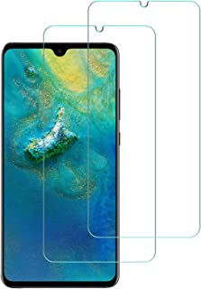 AFGLOOY 2 Pack, Compatible with Huawei Mate 20 Screen Protector (Not for Huawei Mate 20 X), Tempered Glass for Huawei Mate...