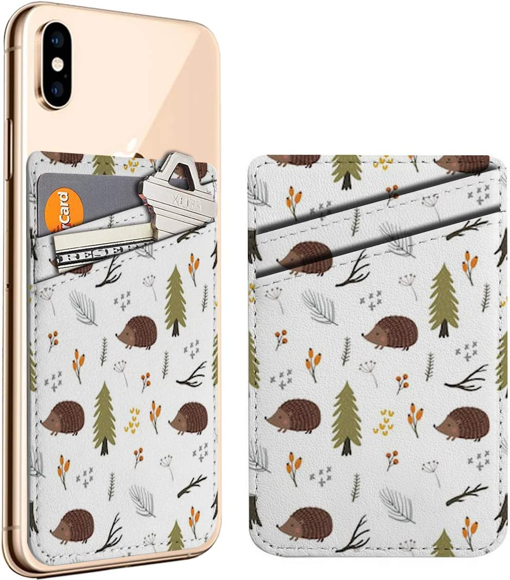 Cartoon Character Cute Hedgehog Forest Cell New arrival ID Stick On Phone 67% OFF of fixed price
