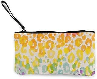 MODREACH Women and Girls Colorful Cheetah Leopard Cute Fashion Coin Purse Wallet Bag Change Pouch Key Holder