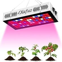 Olafus 300W Grow Light Luz Plantas, 80 LEDs 3 Modos de Iluminación Grow Lamp Espectro Completo para Plantas de Interior, Bombilla LED para Cultivo Conseguir Crecimiento y floración