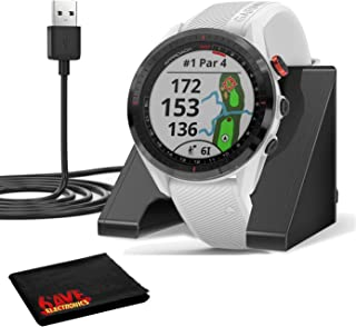 $509 » Garmin Approach S62 GPS Golf Watch (Black Bezel/White Band) with Virtual Caddie,Mapping Includes Charging Base and Cleanin...
