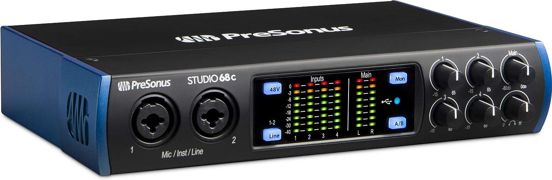 PreSonus Studio 68c 6x6 Ranking TOP10 192 kHz USB Audio Direct sale of manufacturer with Interface Studi