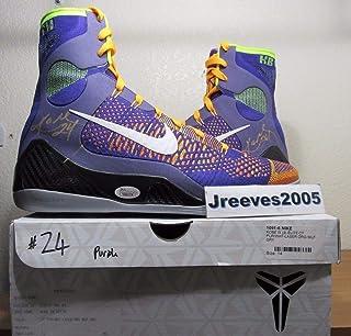 be083c34a332 Dual Autographed Signed Kobe Bryant Ix Elite Promo Sample Pe Sz 14 Shoes  with Memorabilia JSA
