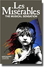 Les Miserables (Broadway) Poster Movie 11x17 Patrick A'Hearn Cindy Benson Jane Bodle David Bryant