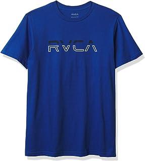 RVCA Men's Split Pin Short Sleeve Crew Neck T-Shirt