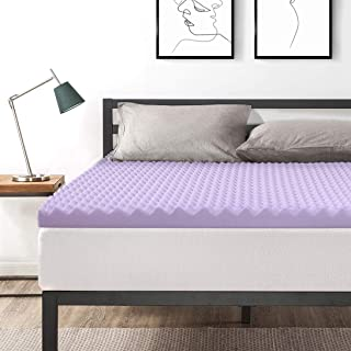 Best Price Mattress Queen 3 Inch Egg Crate Memory Foam Bed Topper With With  Lavender Cooling