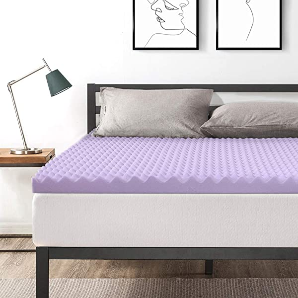 最优惠的价格床垫大号月英寸蛋箱记忆棉床礼帽与薰衣草冷却床垫