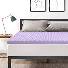 Best Price Mattress King 3 Inch Egg Crate Memory Foam Bed Topper with Lavender Cooling Mattress Pad