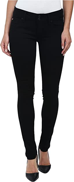 Hudson Collin Skinny Jeans in Black