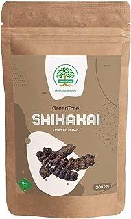 GreenTree Shikakai (Soap Pod) - Whole Dried Fruit Pod (200 Gms)