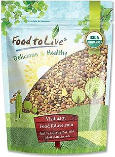 Organic Salad Mix of Sprouting Seeds, 1 Pound — Non-GMO Broccoli, Radish, Clover, Alfalfa. Rich Germination Rate, Non-Irra...