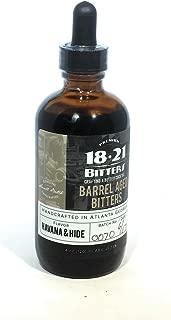 18.21 Barrel Aged Havana & Hide Bitters 4oz