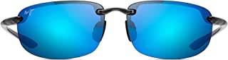 Maui Jim Sunglasses | Ho'okipa B407 | Rimless Frame, Polarized Lenses, with Patented PolarizedPlus2 Lens Technology