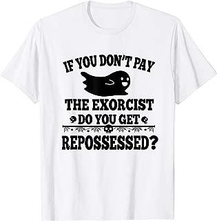 Halloween Exorcist Possessed demon costume gifts T-Shirt