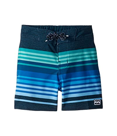 Billabong Kids Spinner Light Boardshorts (Toddler/Little Kids) (Dark Blue) Boy