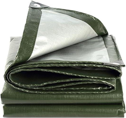 Tapis De Bache Vert Imperméable à La Poussière Et Imperméable à L'eau, Doubleure De Tente En Toile De Camping Et D'extérieur - Prougeection UV - épaisseur 0,35 Mm, 180 G   M2, Une Variété D'options De Ta