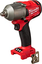 "Milwaukee 2860-20 M18 FUEL 1/2"" Mid-Torque Impact Wrench with Pin Detent (Tool Only)"