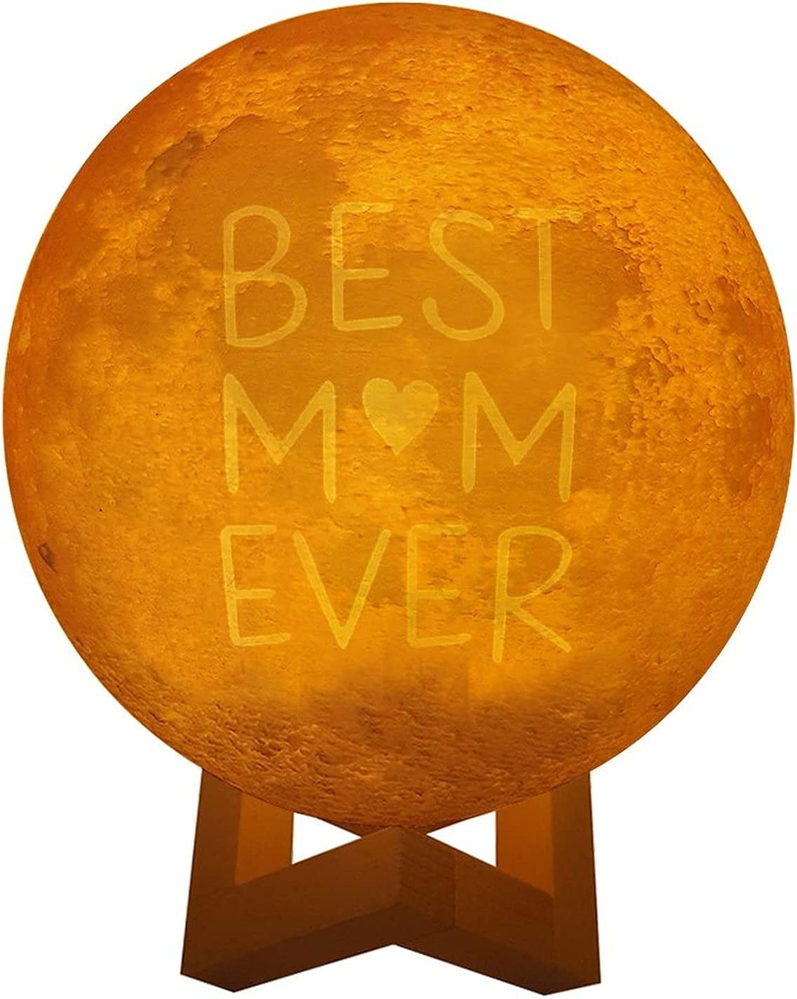 DKISEE Novelty Three Colors Dedication Lunar Lamp Best Black Coo Mom Ever Baltimore Mall