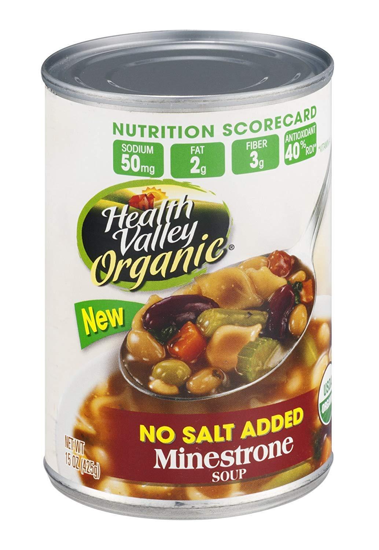 Health Valley Soup Org Finally popular brand Minestrone Ns Choice
