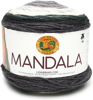 Lion Brand Yarn Company Lion Brand Hilo 525–221Mandala, acrílico, Harpías, 13,97x 13,97x 10,16cm