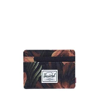 Herschel Supply Co. Charlie RFID (Tropical Hibiscus) Wallet Handbags