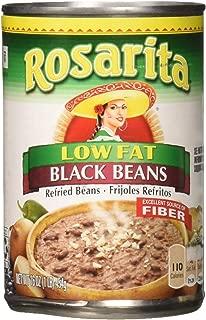 Rosarita Low Fat Refried Black Beans, 16 oz