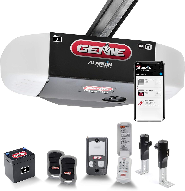 Genie StealthDrive Connect 7155-TKV Ultra-Quiet Strong Garage Door Opener