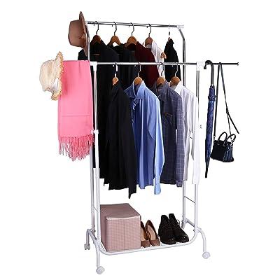 Mythinglogic Double Rail Garment Rack