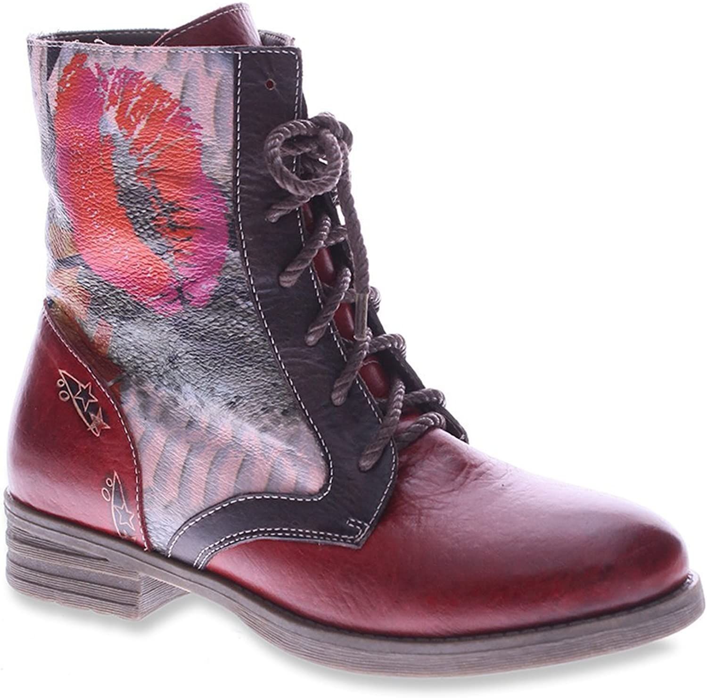 Spring Step L'Artiste Women's Comical Boot Black Multi