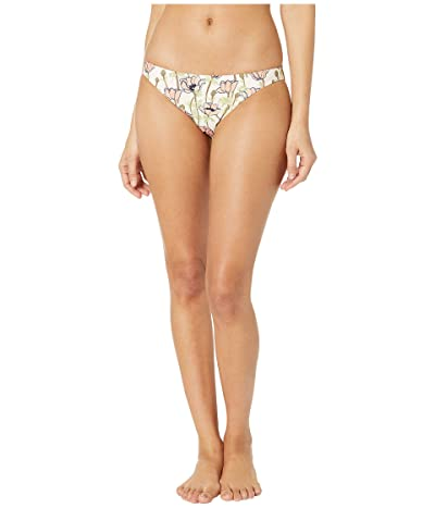 Tory Burch Swimwear Printed Low Rise Hipster (Pink Poppies Bloom) Women