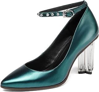 Nine Seven Women's Leather Pointtoe Heel